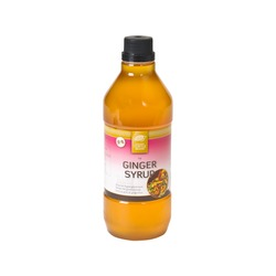 GINGER SYRUP (LIQUID GINGER) 1lt GOLDEN TURTLE