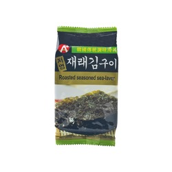 ROASTED SEASONED SEAWEED 3x5g HOSAN