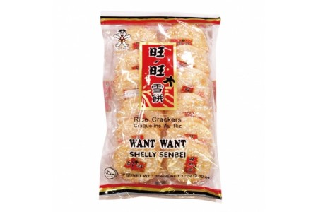 RICE CRACKERS SHELLY SENBEI 150g WANT WANT