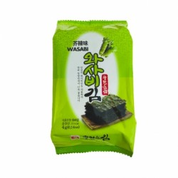 SEAWEED  WASABI FLAVORED 4g KWANGCHEON