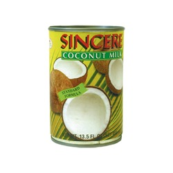 COCONUT MILK 18% FAT 400ml SINCERE