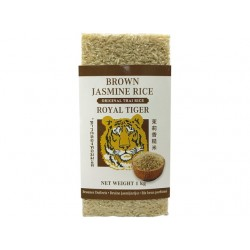 RICE SCENTED JASMINE BROWN 1kg ROYAL TIGER