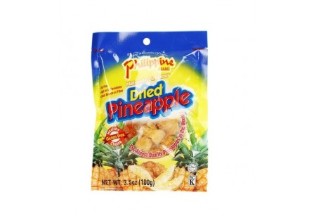 DRIED PINEAPPLE  100g PHILIPPINE