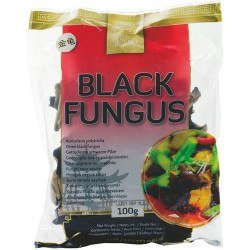 BLACK FUNGUS DRIED 100g GOLDEN TURTLE