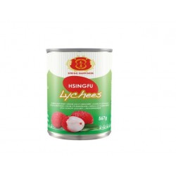 LYCHEE IN SYRUP 567g H&S