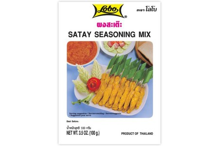 SATAY SEASONING MIX 100g LOBO