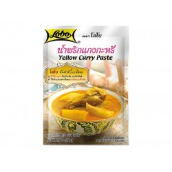 YELLOW CURRY PASTE 50g LOBO