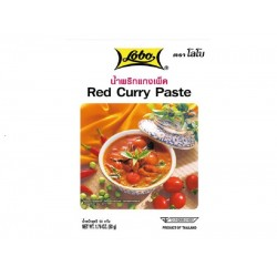 RED CURRY PASTE 50g LOBO