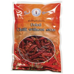 CHILLI DRIED WITHOUT STEM 75g THAI DANCER