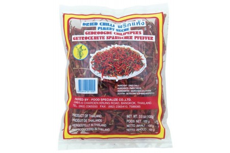 CHILLI DRIED 100g THAI DANCER