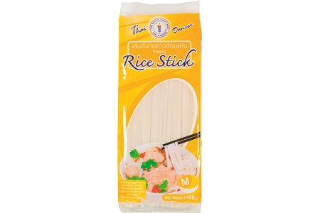 PAD THAI RICE STICKS (M) 400g THAI DANCER