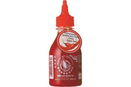 CHILLI SAUCE SRIRACHA  SUPER HOT 200ml FLYING GOOSE