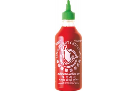 CHILLI SAUCE SRIRACHA 455ml FLYING GOOSE