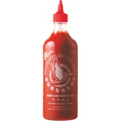 CHILLI SAUCE SRIRACHA  SUPER HOT 730ml FLYING GOOSE