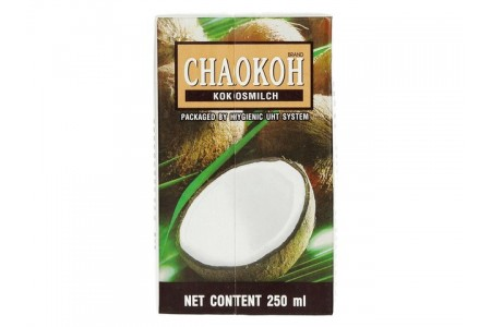 COCONUT MILK 16% FAT 250ml CHAO KOH