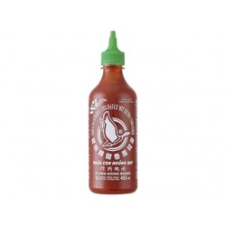 SRIRACHA CHILLI SAUCE CORIANDER 455ml FLYING GOOSE
