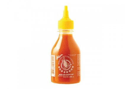 CHILLI SAUCE SRIRACHA YELLOW 200ml FLYING GOOSE