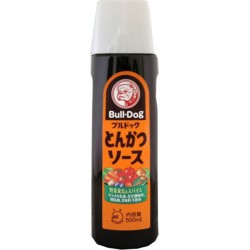 TONKATSU SEASONING SAUCE 500ml BULLDOG