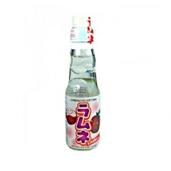 SOFT DRINK (CARBONATED) LYCHEE FLAVOUR 200ml RAMUNE